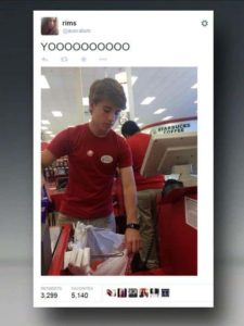 Alex from target social media moment