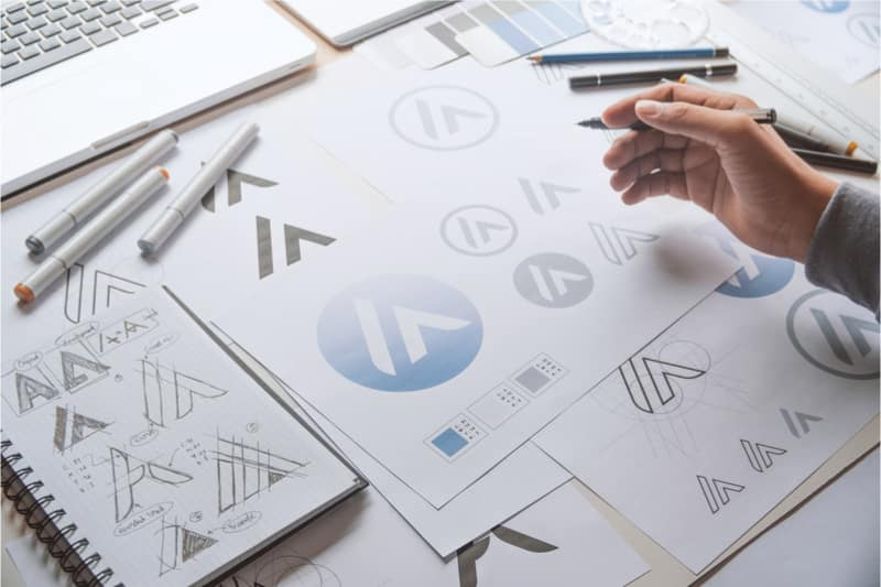 A Sneak Peek Into The Logo Design Process