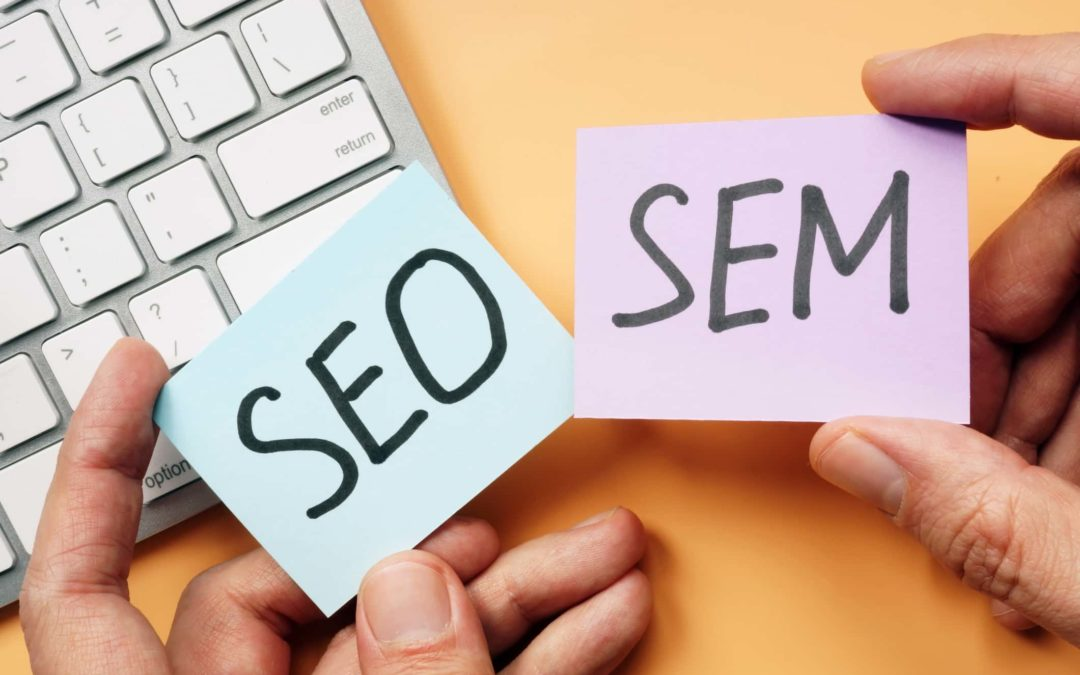 SEO vs. SEM in marketing