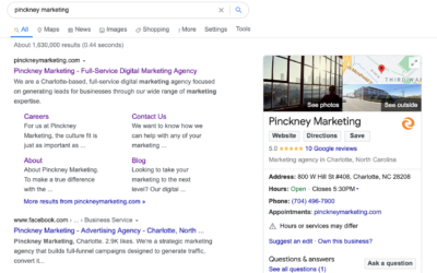 The Benefits of Optimizing Your Google My Business Listing